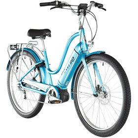 "Electra Townie Path Go! 5i 27,5"" Dames, aqua metallic"